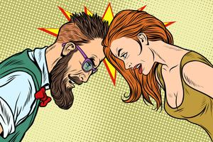 Head to head: Relationships can be strained under tense circumstances