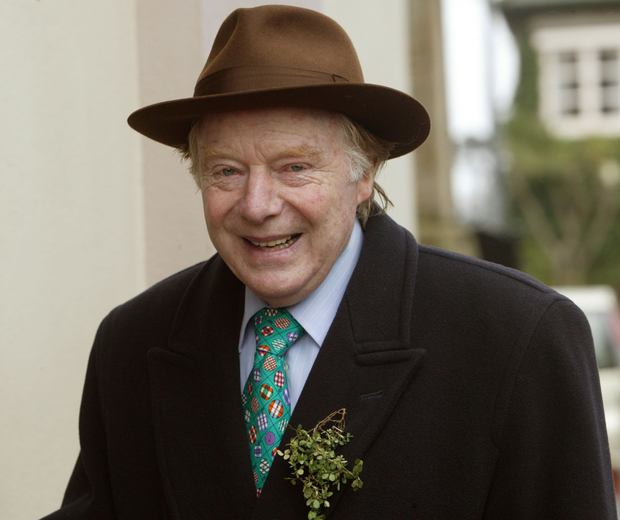 Builder Tom Brennan, seen here arriving at the funeral of developer Patrick Gallagher in Booterstown, Dublin, in 2006. Photo: Tony Gavin