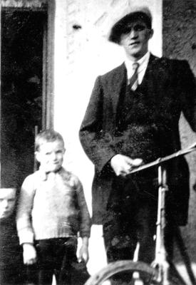 Innocent: Henry 'Harry' Gleeson, right, was hanged for murder in 1941 and given a posthumous pardon in 2015