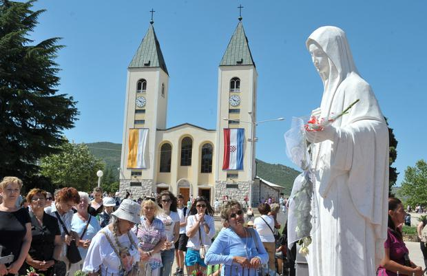 Message of peace: Medjugorje hosts a million pilgrims each year