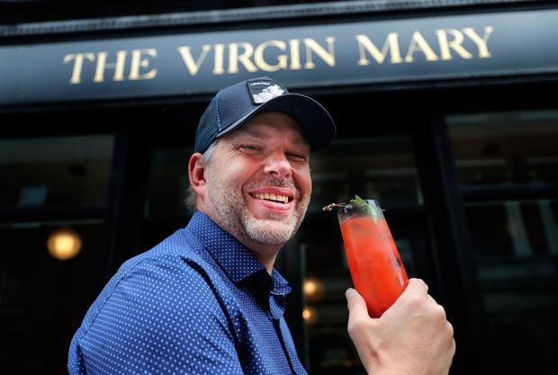 The Virgin Mary owner Vaughan Yates