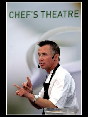 Gary Rhodes at the launch of Taste of Dublin 2014.