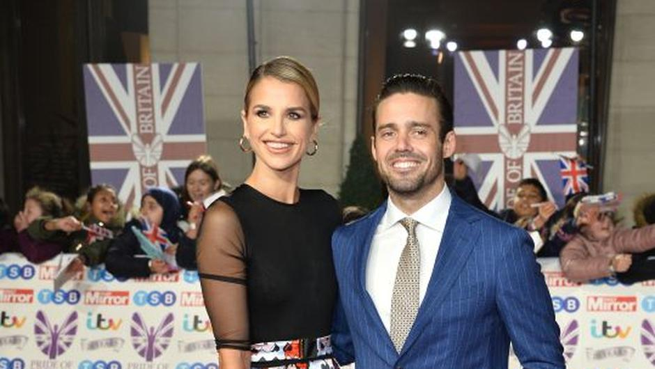 Vogue Williams and Spencer Matthews. Photograph: Jeff Spicer/Getty Images