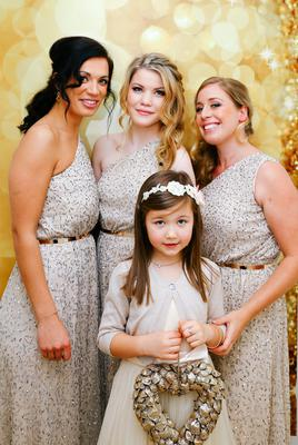 Anne-Marie's bridal party. Photography by Claire-Jeanne Nash, visit cjnashphotography.com