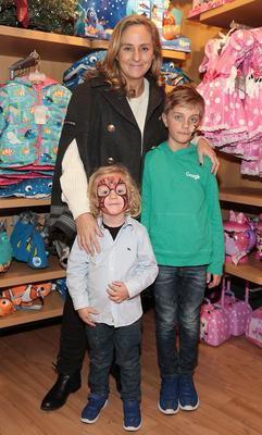 Debbie O Donnell with sons Marcus and Sam