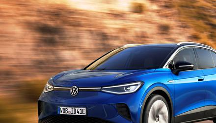 Prank: The new Volkswagen ID4 electric car has just gone on sale in the US and Europe – but it won't have a 'Voltswagen' badge
