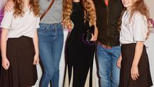Poppy Oliver, Jools Oliver, Zoe Sugg, Jamie Oliver and Daisy Oliver attend YouTube phenomenon Zoe Sugg's (Zoella) launch of her debut beauty collection in September.