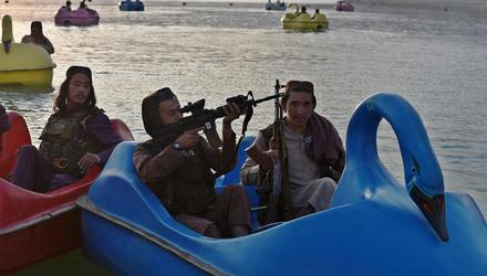 Taliban fighters have set their sights on Afghanistan's theme parks
