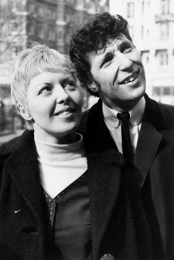 Tom Jones with his wife, Melinda, in London in 1965. Photograph: Bentley Archive/Popperfoto/Getty Images