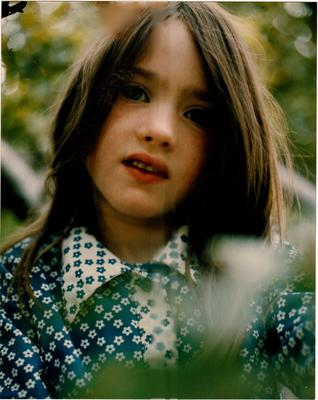 Victoria Mary as a child in Wicklow