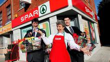 Silver screen: Fair City entered the 21st century with its own Spar as part of a product placement deal in 2011.