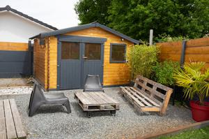Forget privacy from the neighbours - get away from your own kids by building or buying an adult den!