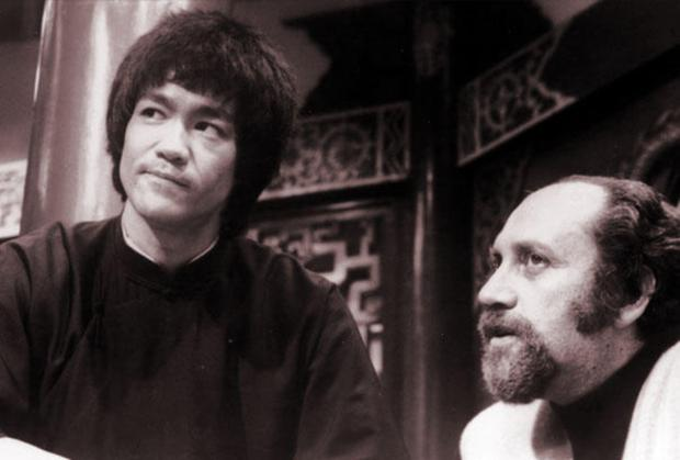 BIG BREAK: Fred Weintraub with Bruce Lee on the set of the martial arts film 'Enter the Dragon', which made Lee famous