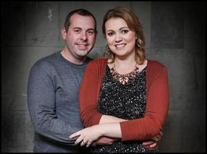 Andrew and Amy O'Riordan live and work in Cork. Photo: Steve Humphreys