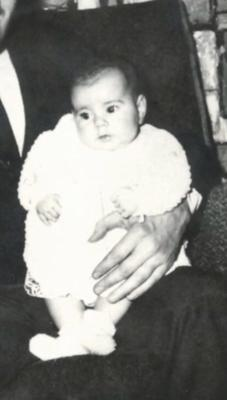 Dolores as a baby