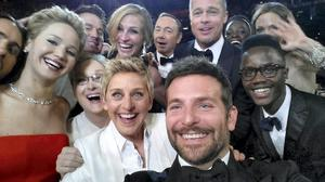 The Oscars selfie went viral and became the most retweeted tweet of all time