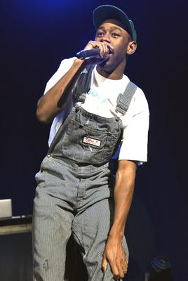Controversial: Tyler the Creator is a highlight of Friday night.