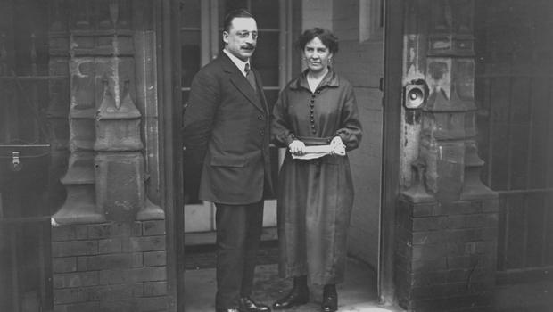 London calling: Arthur Griffith with his wife Molly at 22 Hans Place, the London venue where the 1921 Treaty was sketched out.