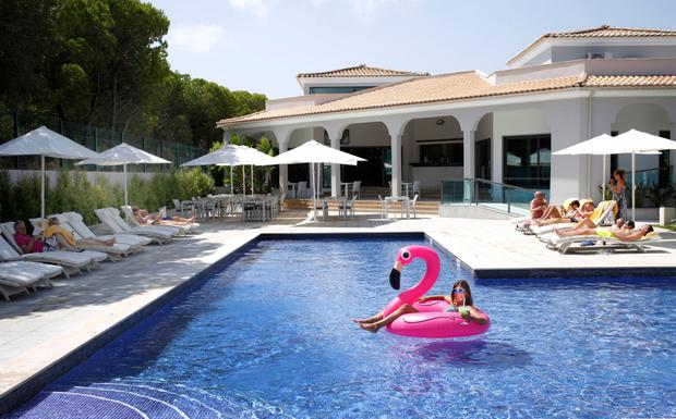 Pink flamingos and cocktails - it's hipster heaven at the Magnolia Hotel