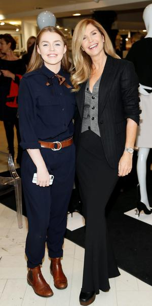 Missy Keating and Yvonne Connolly