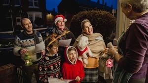 We'll miss the carol singers but there's always Christmas FM