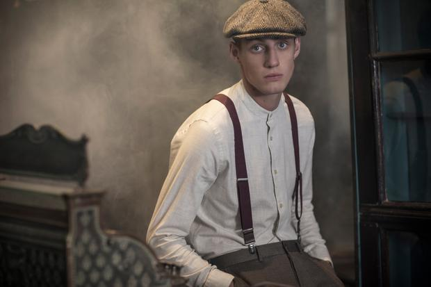 Shirt, €35; trousers, €45; hat, €35; braces, €10. Photography: Lee Malone