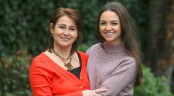 Audrey Whelan and granddaughter Karla Tracey. Photo: Damien Eagers