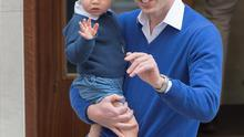 Prince George and dad Prince William