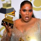 Winner: Lizzo at the Grammys on Sunday. Photo: Frederic J. Brown/AFP via Getty Images