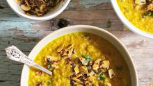 Coconut and Tumeric Dhal