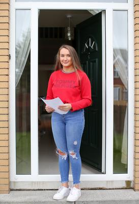 Open letter: Down High A-Level pupil Charlotte Hart at home in Ballynahinch, Co Down. Picture by Jonathan Porter/PressEye
