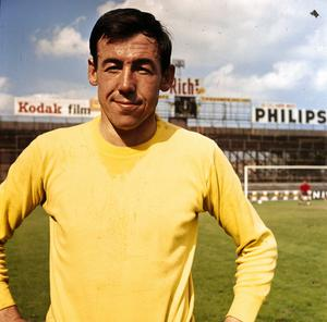 Glory days: Gordon Banks got £500 to play one game for St Pat's