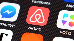 'The letter campaign in 2018 targeted 12,000 Airbnb landlords and Revenue then analysed the results for signs of underpayment of tax last year.' Stock picture