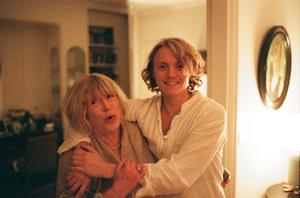 Oscar and his grandmother Marianne