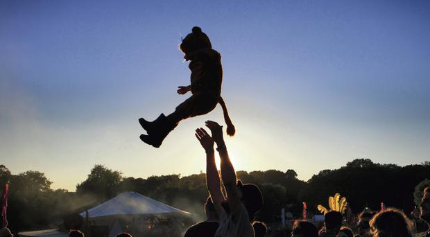 Good news for Body and Soul fans as weather set to improve this weekend - but 'pack wellies'