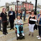 Disappointed Garth Brooks fans in Tallow, Co Waterford: Mossie Moore, Treasa Casey, John Pratt, Margo Pratt, Linda McCormack and Rosemary Pescod
