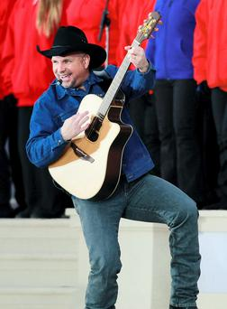 Country and western superstar Garth Brooks
