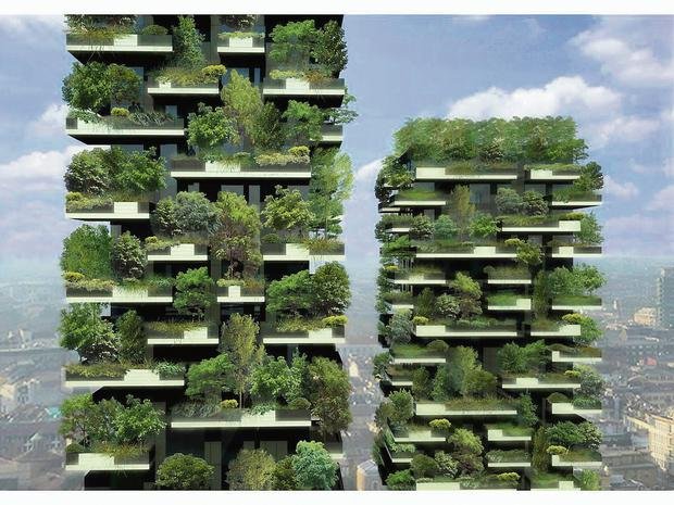 Future Proof: The Bosco Verticale in Milan, the world's first 'vertical forest'.