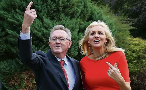 Number one: Sean with Miriam O'Callaghan.