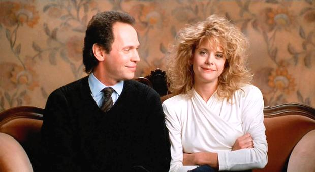 Billy Crystal and Meg Ryan in a scene from When Harry Met Sally