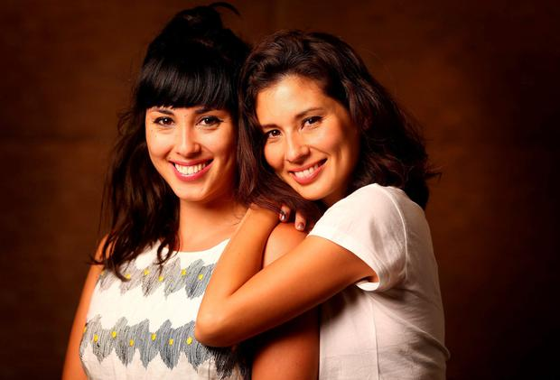Sister, Sister: Jasmine Hemsley, above right, thought Melissa, above left, was annoying when she was younger. Now they run a successful business together: Photo: Gerry Mooney