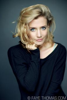 Actress Lisa Dwan is currently starring in the Royal Court Beckett Trilogy