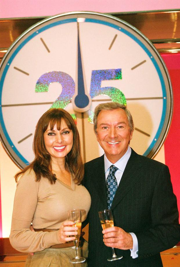 Carol Vorderman on Countdown.