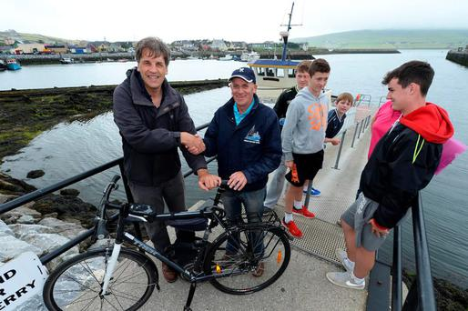 Dingle all the way: Kim Bielenberg meets Tom Sheehy, skipper of the Lady Laura.