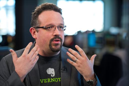 Phil Libin, chief executive officer of Evernote