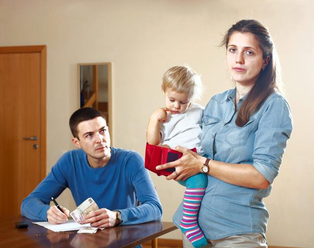 Many children and families are caught in the poverty trap