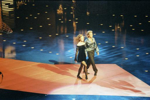Jean Butler and Michael Flatley perform Riverdance (1994)