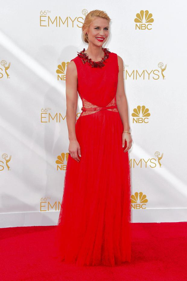 Claire Danes' Givenchy haute couture gown is to die for.