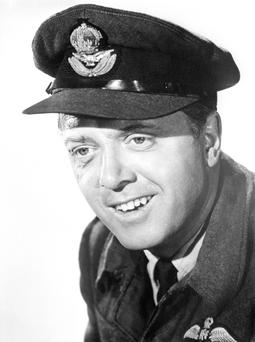Richard Attenborough dressed as an RAF squadron leader for the film The Great Escape as Lord Attenborough has died aged 90