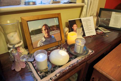 Pictures and memories of Matthew in the Fitzpatrick family home in Galway